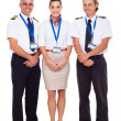Airline crew — Stock Photo