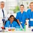 Group of medical lab technicians — Stock Photo #28744721
