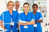 медицинские исследователи в лаборатории — Стоковое фото