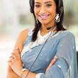 Stock Photo: Indian bussiness support center operator
