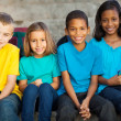 Stock Photo: Group of primary school students
