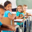 Group of primary school students — Stock Photo #28924141