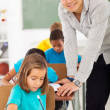 Elementary school teacher — Stock Photo #28925725