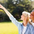 Healthy mature couple outdoors — Stock Photo