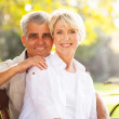 Retired mature couple outdoors — Stock Photo #29906355