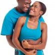 Young afro american couple embracing — Stock Photo #29951869