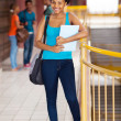 Female african american university student — Stock Photo