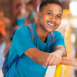 Africcollege student — Stock Photo #30072483