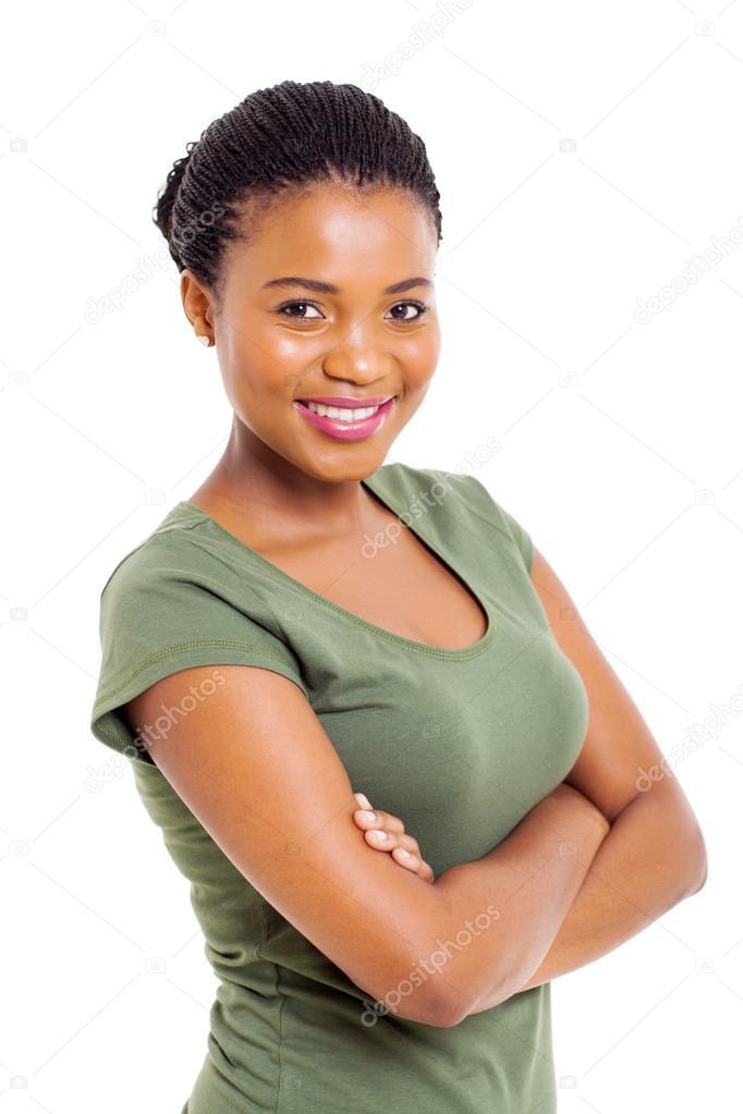 的现代非洲裔美国女人