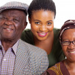 African family — Stock Photo