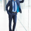 Young african american businessman — Stock Photo