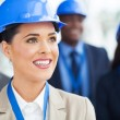Group of construction managers — Stock Photo #34111869