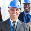 Group of construction businesspeople — Stock Photo