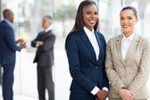 Business women in office — Stock Photo