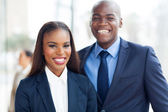 African business team portrait — Stock Photo
