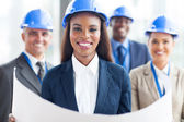 African american female architect — Stock Photo