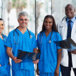 Stock Photo: Group of medical doctors in office