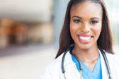 African female nurse — Stock Photo