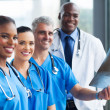 Stock Photo: Group of medical workers working together