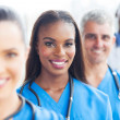 Group of medical team closeup — Stock Photo