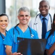 Team of medical workers — Stock Photo