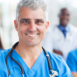 Stock Photo: Senior medical surgeon portrait