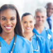Stock Photo: Group of healthcare workers