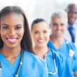 Group of healthcare workers — Stock Photo #34181637