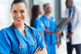 Young doctor looking at the camera — Stock Photo