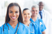Group of healthcare workers — Stock Photo