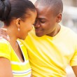 Young african couple in love — 图库照片