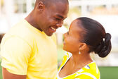 African american couple in love — Stock Photo