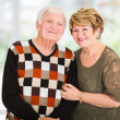 Retired senior couple portrait — Stock Photo