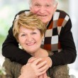 Happy old couple — Stock Photo #35278059