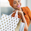Africwomshopping spree in mall — Stock Photo #36379723