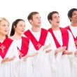 Church choir singing — Stock Photo #38472139