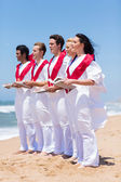 Church choir singing — Foto Stock
