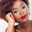 Stock Photo: African woman beauty