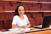 Attractive student — Stock fotografie