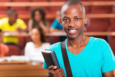 Young african college student — Foto Stock