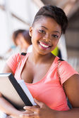 Female college student — Stock Photo