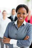 Corporate worker in office — Stock Photo