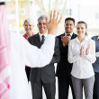 Business team applauding — Stock Photo #42433337
