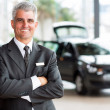 Senior car dealer principal — Stock Photo #42435907