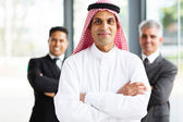 Arabian businessman with arms crossed — Stock Photo