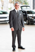 Senior vehicle sales consultant — Stock Photo