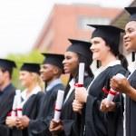 Group of university graduates — Stock Photo #42487797