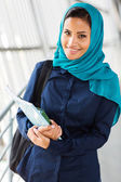 Middle eastern college girl — Stock Photo