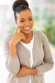 Linda mujer africana — Foto de Stock