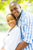 Loving african couple — Stock Photo